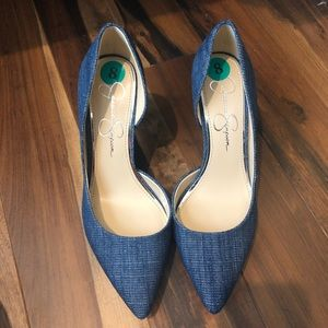 Jessica Simpson heels. Size 8 but fit 8.5